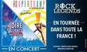 ROCK LEGENDS – SUPERTRAMP & DIRE STRAITS performed by LOGICALTRAMP & MONEY FOR NOTHING – Mardi 10 Mars 2020 – La Bourse du Travail – 69000 Lyon