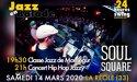 #Annulé | Jazz en Balade 2020 – Soul Square – Samedi 14 Mars 2020 – Amicale Laïque de La Réole