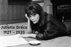 PLAYLIST VIDEOS SPECIALE JULIETTE GRECO