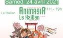 Festival Animasia – #9ème édition – Samedi 24 avril 2021 – L'Entrepôt – Le Haillan