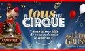 """Cirque Arlette Gruss """"Excentrik """"- Du 15  Janvier au 14 Février 2021- Place des Quinconces – Bordeaux"""