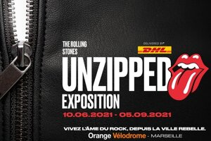 THE ROLLING STONES - L'EXPOSITION S'INVITE EN JUIN 2021 A MARSEILLE