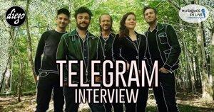 INTERVIEW MANUSCRITE #91 – TELEGRAM @ DIEGO ON THE ROCKS